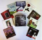 Ni (9) CDer i bokssæt med indlagt booklet plus 9 bonusnumre