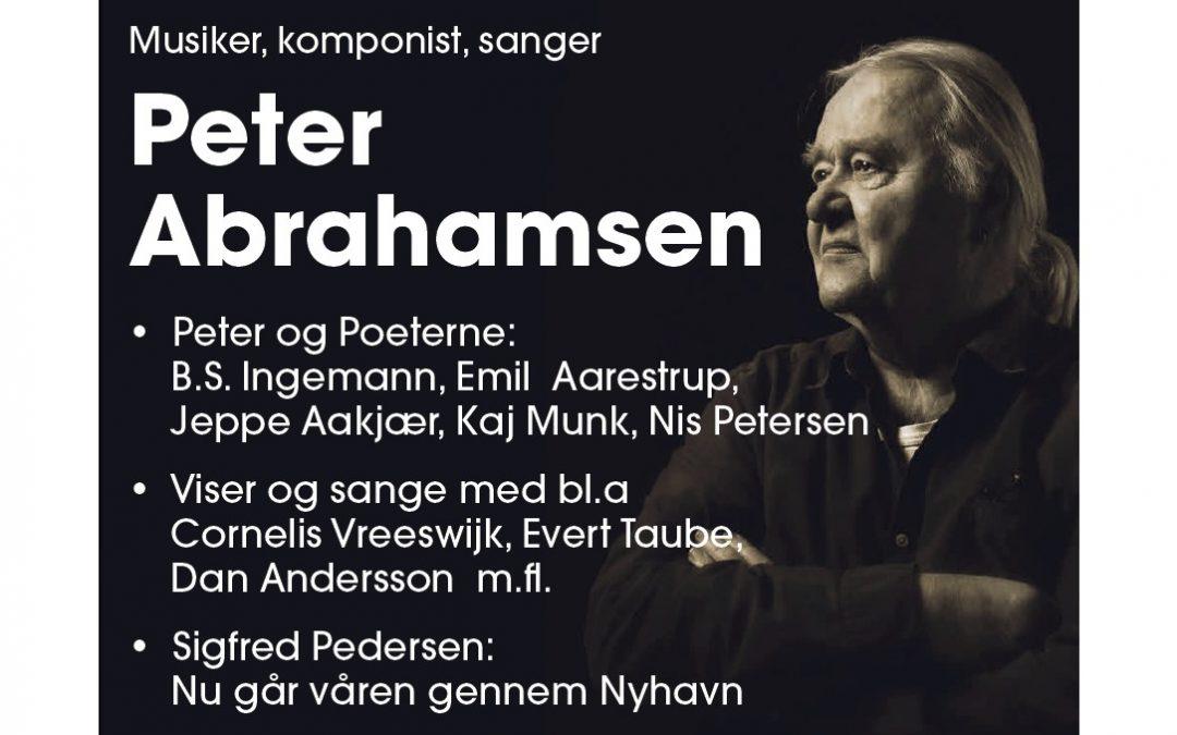 Tre koncerttyper med danske digtere i 2020