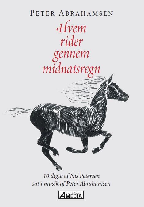 Nodehæfte med 10 Nis Petersen digte sat i musik af Peter Abrahamsen